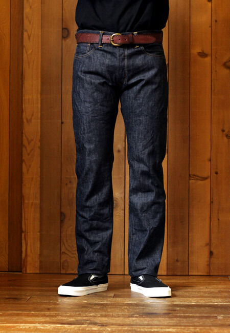 Men Slim Straight Jeans