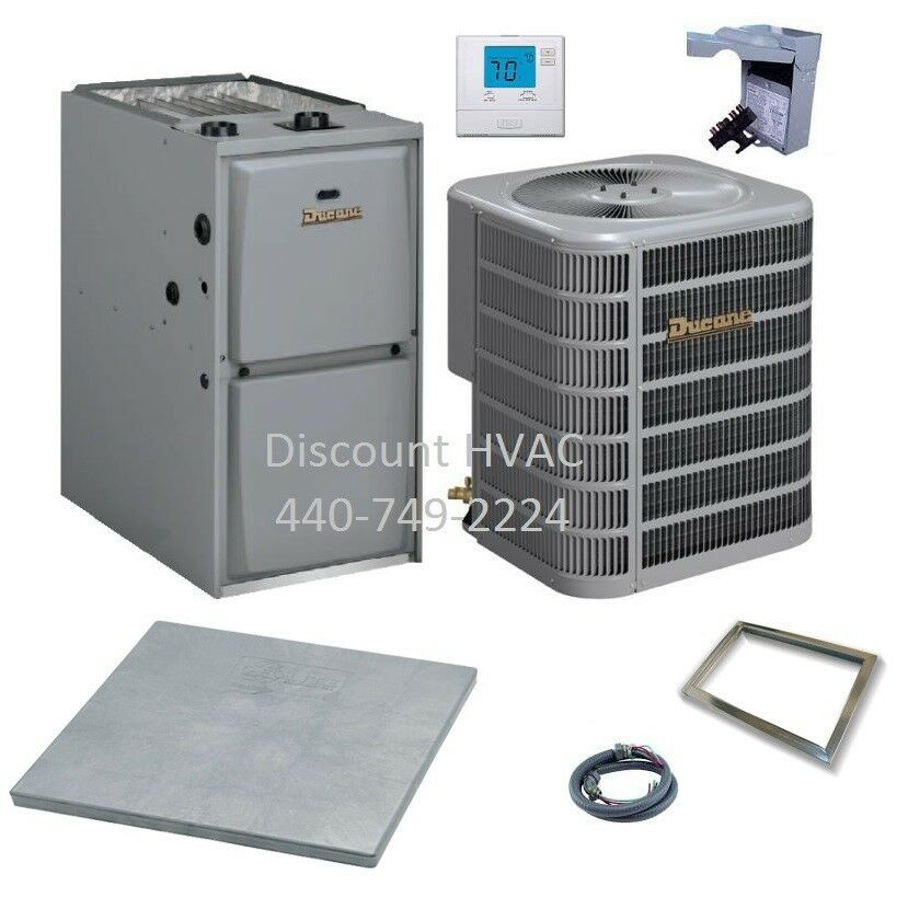 Ducane By Lennox 90 000 Btu 95 Gas Furnace 3 Ton 13