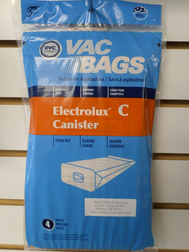 Dvc Brand Electrolux Type C Canister Vacuum Cleaner Bags