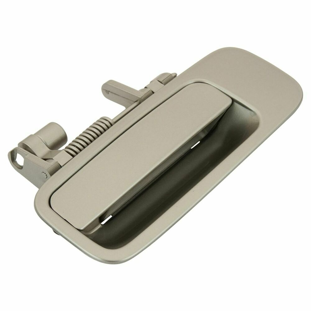 Door handle beige exterior rear l left driver side for 97 01 toyota camry es300 ebay for 2002 toyota camry driver side interior door handle