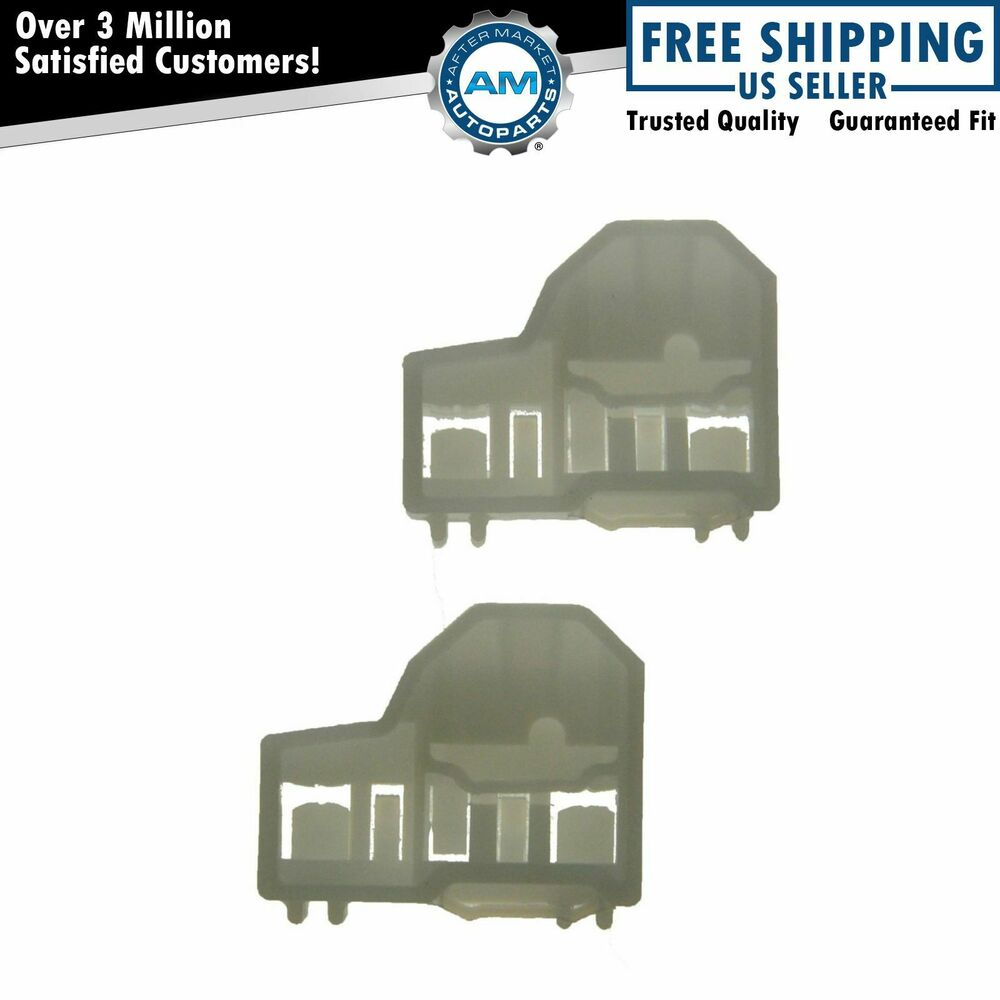 Window regulator guide clip pair set for pontiac grand am for 1999 pontiac grand am window regulator