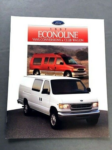 1997 ford econoline conversion and club wagon 18 page van. Black Bedroom Furniture Sets. Home Design Ideas