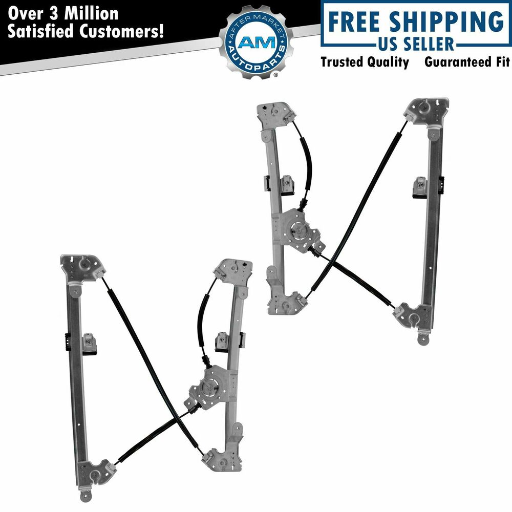 Power window regulators front left right pair set for 04 for 04 f150 window regulator