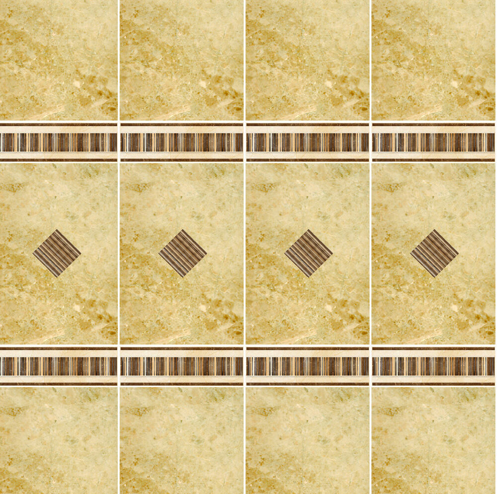 Dolls House Wallpaper 1/12th 1/24th Scale Bathroom Marble