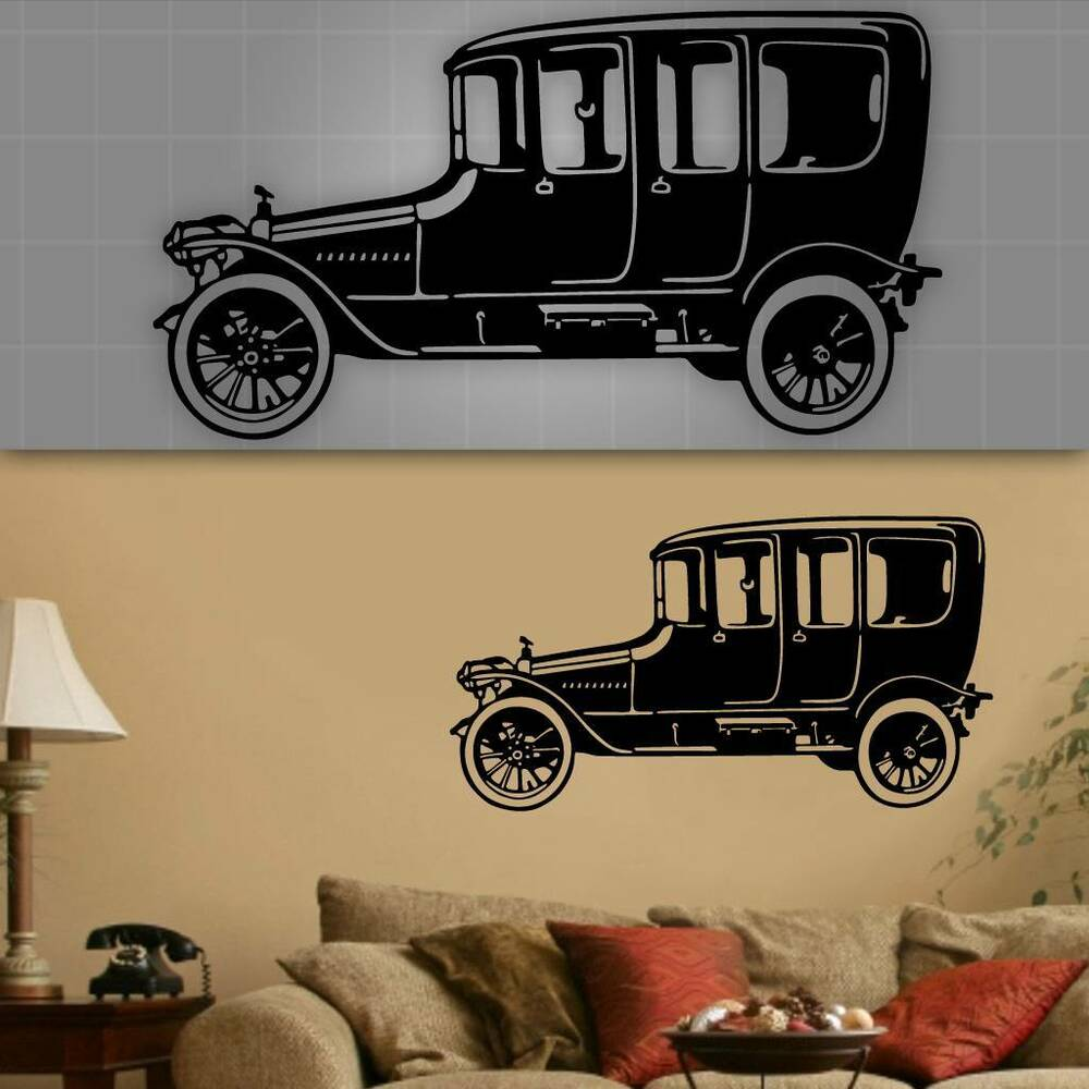 Luxury Vintage Car Wall Art Ornament - The Wall Art Decorations ...