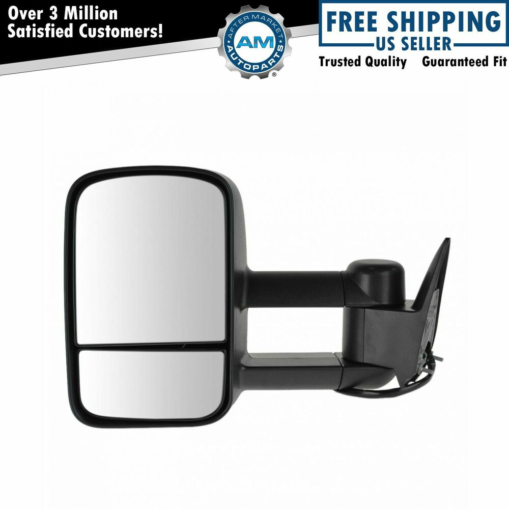 Towing Upgrade Mirror Power LH Left Driver Side For 88-98