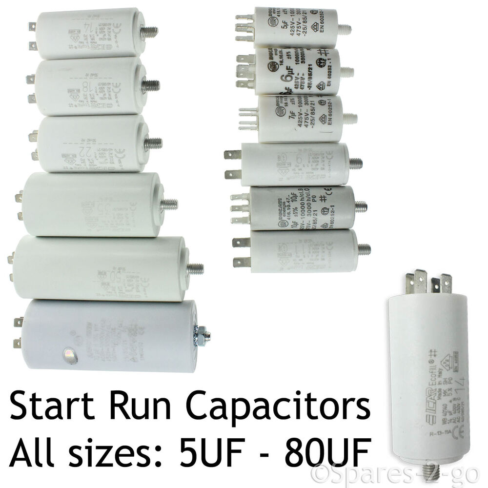 Karcher Capacitor Start Run Motor Capacitors Pressure