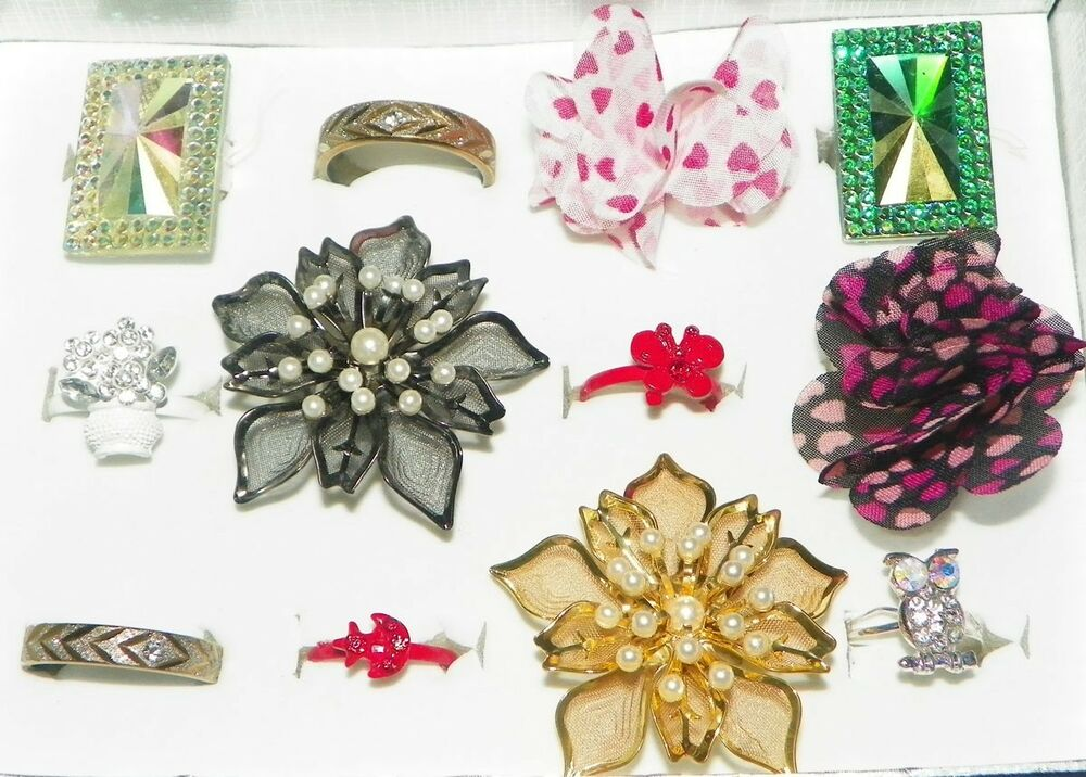 Wholesale lot 12 pc assorted fashion costume jewelry for Costume jewelry sold by the dozen