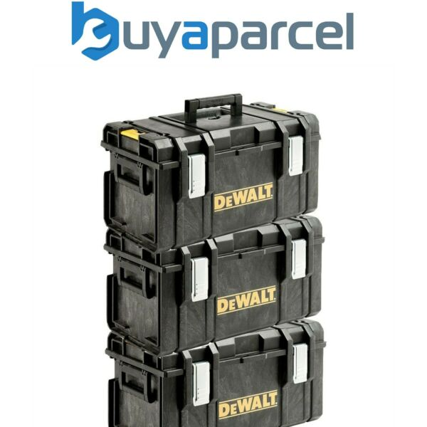 Dewalt DS300 Toughsystem Stack-able Toolbox - Triple Pack