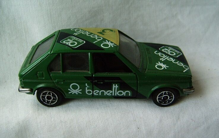 Model Toy Car Talbot Horizon 1 43 1319 Solido France Sponsor Benetton