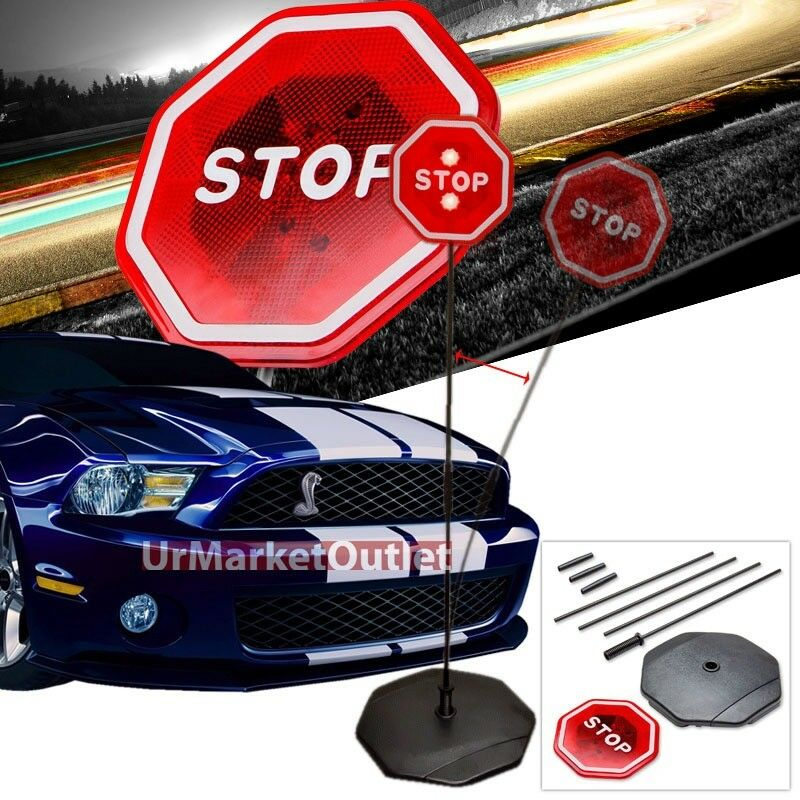 Garage/Packing Safety LED Light Stop Sign Warning/Guide