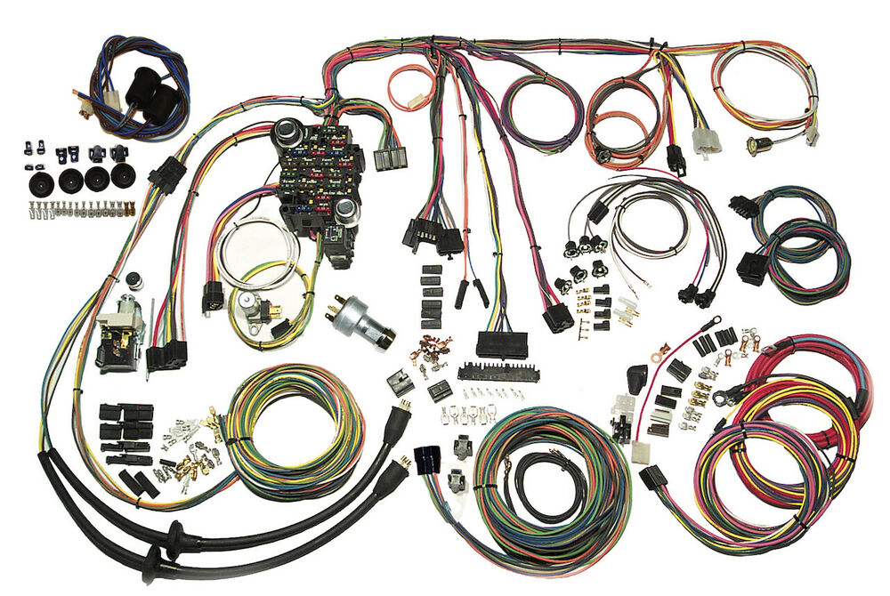 s-l1000  C Wiring Harness on rat truck, lowered 2 inch, pick up open hood, truck rally wheels,