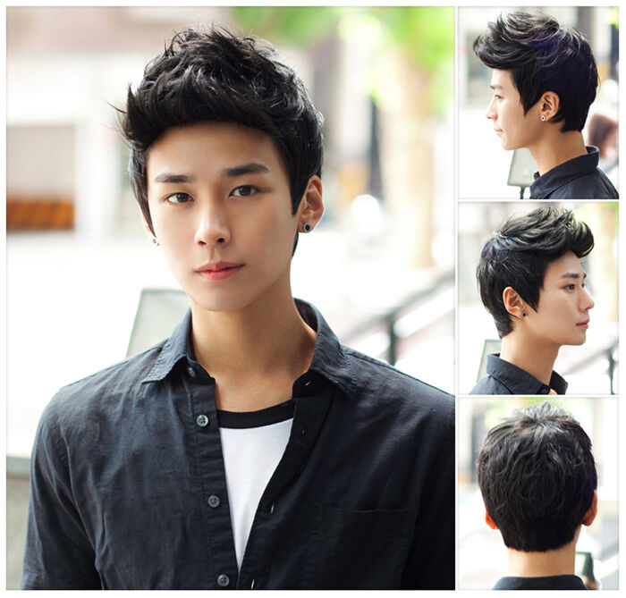 style hair korean boy cool handsome boys layers hair 6025