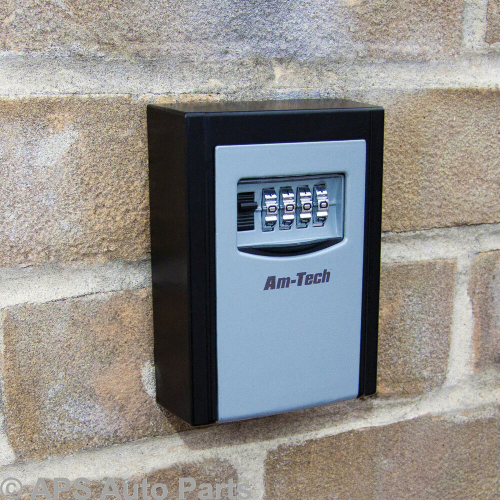 Wall Mounted 4 Digit Key Safe High Security Box
