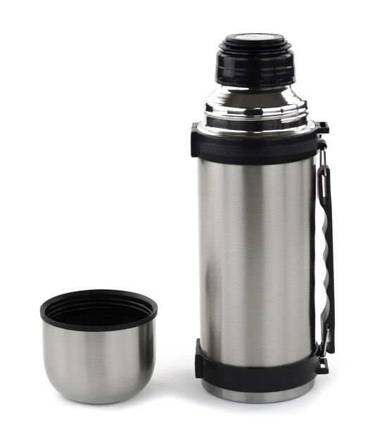 32 oz stainless steel vacuum thermos portable insulated travel flask bottle ebay. Black Bedroom Furniture Sets. Home Design Ideas