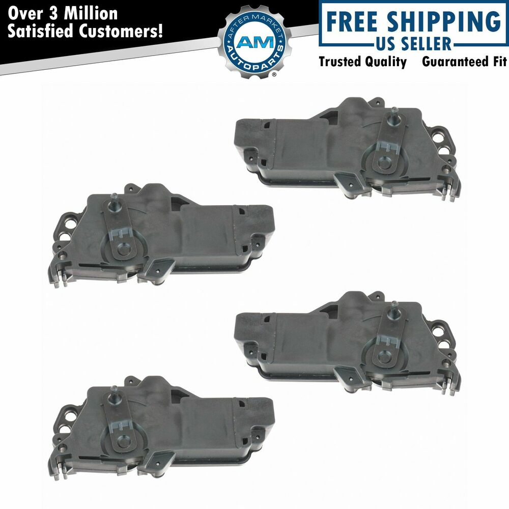 Power Door Lock Actuators Kit Set Of 4 For Ford F150 F250 F350 Excursion Mercury