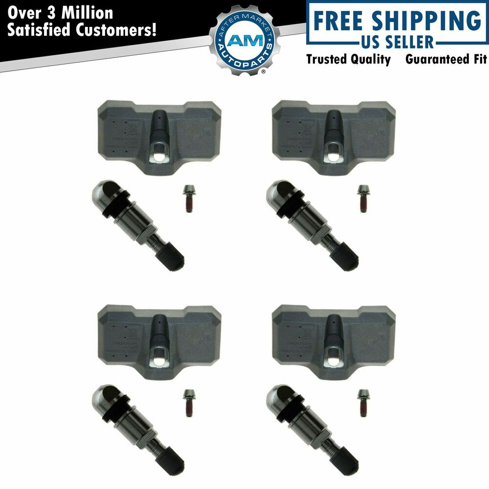 Mitsubishi Tpms Sensor: TPMS Tire Pressure Monitor Sensor Set Of 4 New For Nissan