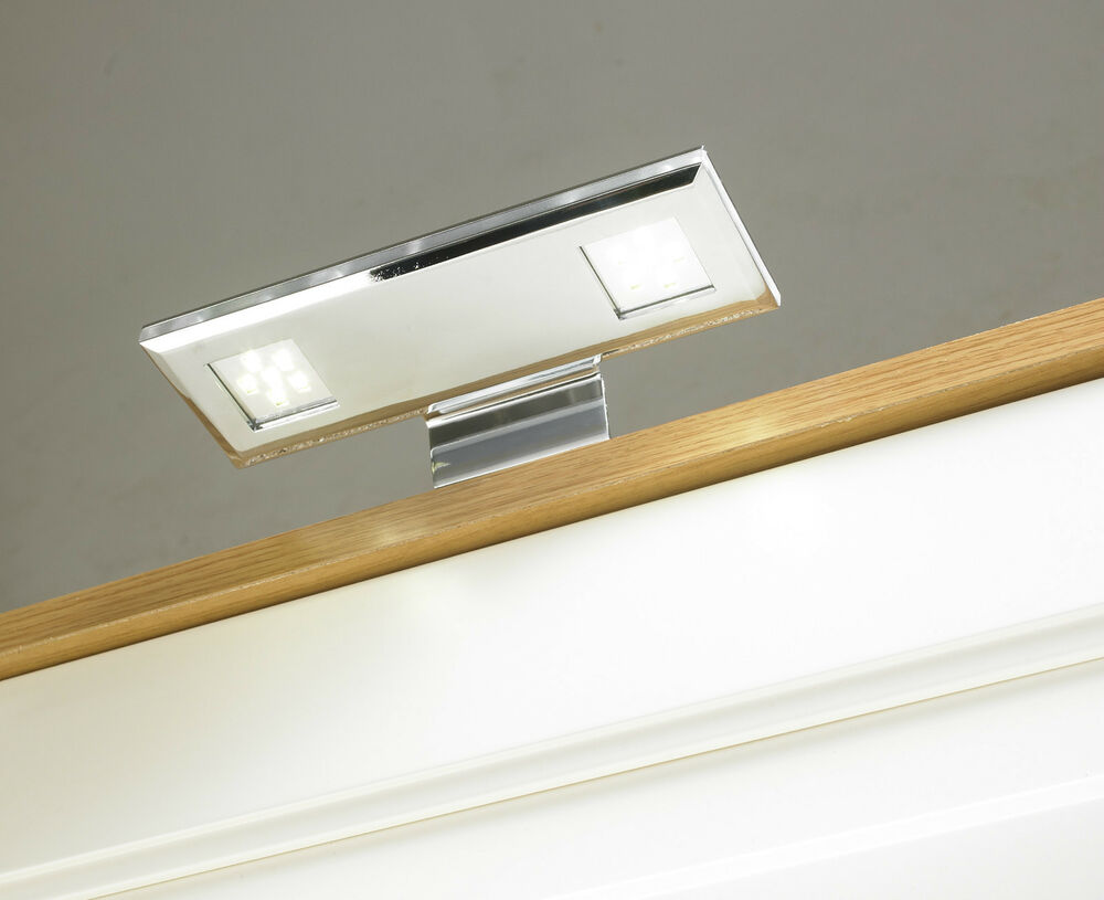 led over cabinet light kitchen wardrobe downlight chrome