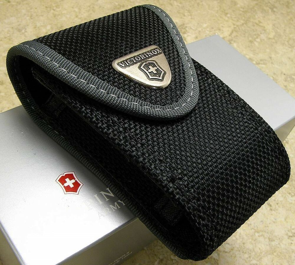 Victorinox Black Nylon Large Folding Knife Tool Belt Pouch