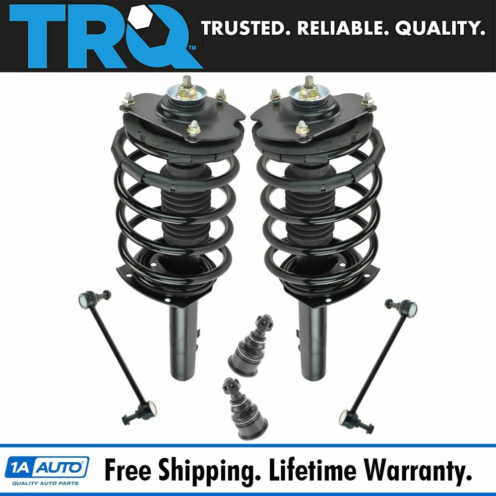 Strut Assembly Sway Bar Link Ball Joint Set Front For Ford