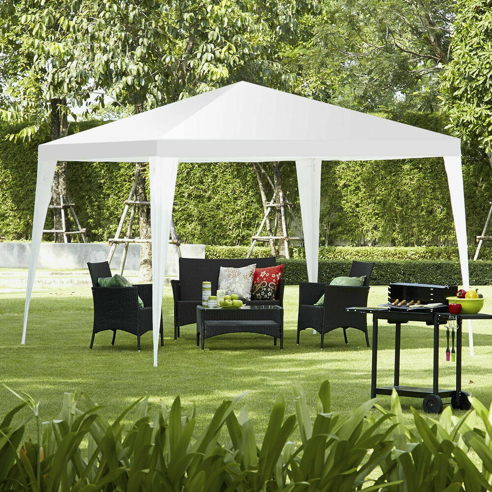 10 X10 Canopy Party Wedding Tent Heavy Duty Gazebo