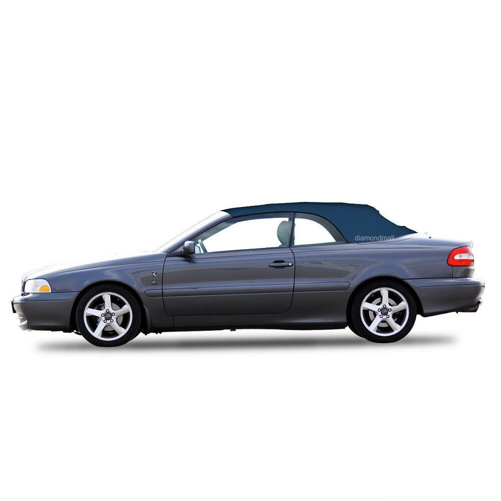 volvo c70 convertible sof top replacement glass window 1999 06 blue stayfast ebay. Black Bedroom Furniture Sets. Home Design Ideas