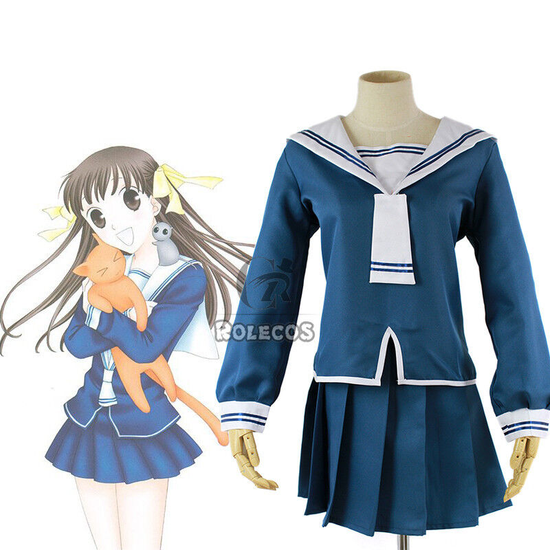 Fruits Basket Tohru Honda Sailor Suit Uniform Dress Outfit ... Tohru Fruits Basket Outfits