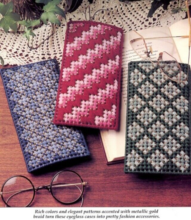 3905d5dba433 Spectacular Cases Eyeglasses Plastic Canvas Pattern -30 Days To Shop ...