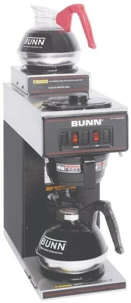 NEW BUNN VP17-2 POUROVER 12 CUP COMMERCIAL COFFEE MAKER ...