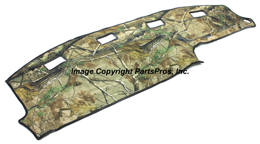New Realtree Ap Camo Camouflage Dash Mat Cover For 1994