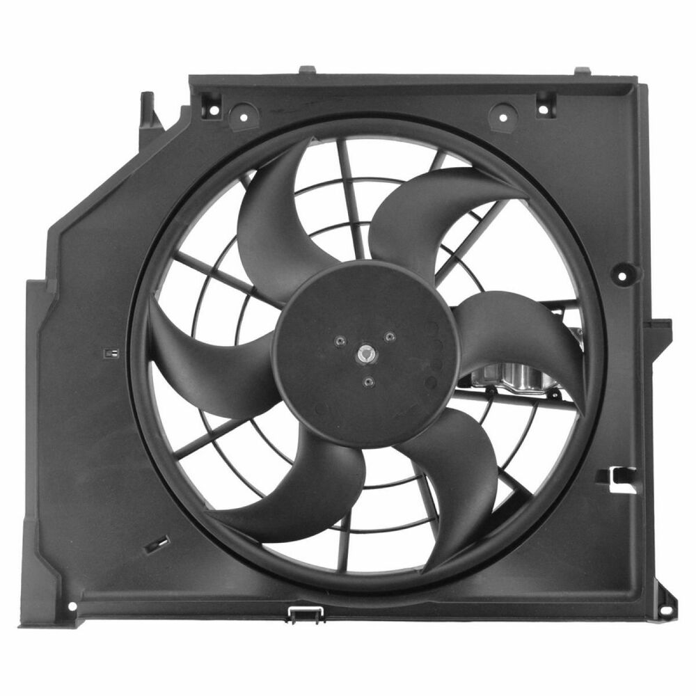 Radiator Cooling Fans : Puller radiator cooling fan assembly for bmw series e