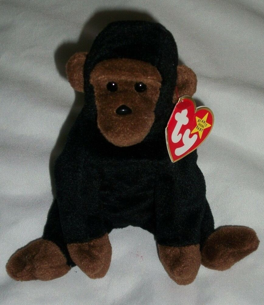 AH Ty Beanie Baby Congo Gorilla 1996 Retired Babies Style