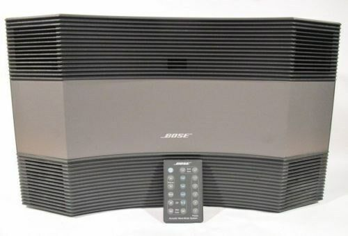 black bose acoustic wave music system cd 3000 am fm radio. Black Bedroom Furniture Sets. Home Design Ideas