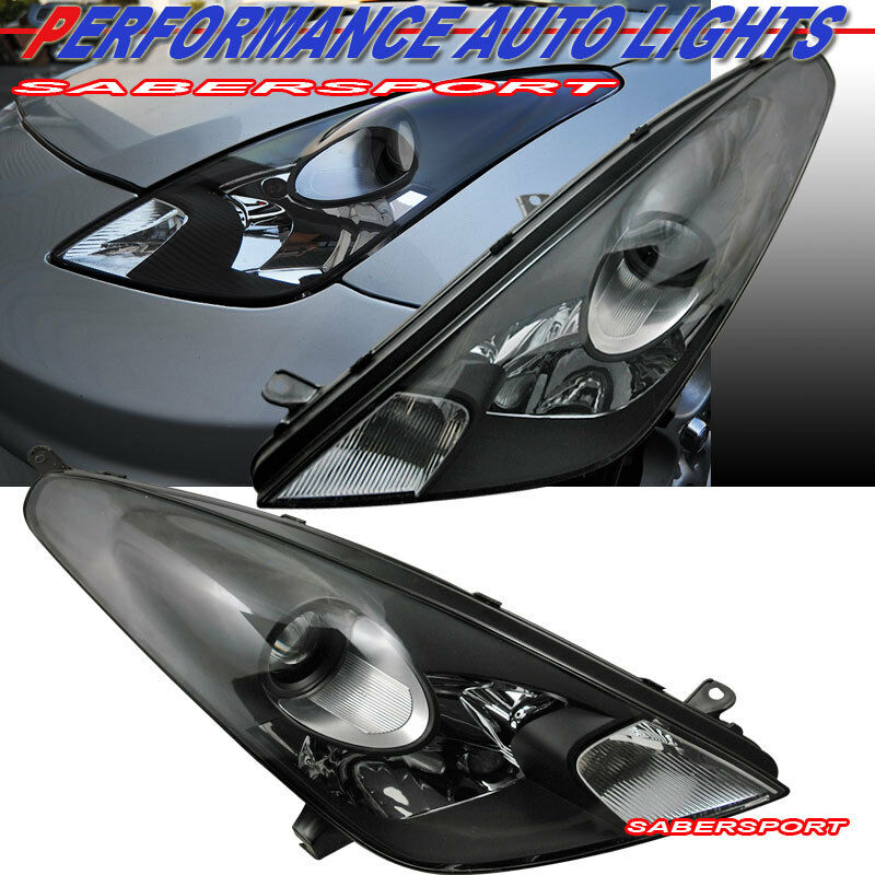 2000 2005 Toyota Celica Gt Gts Black Housing Projector
