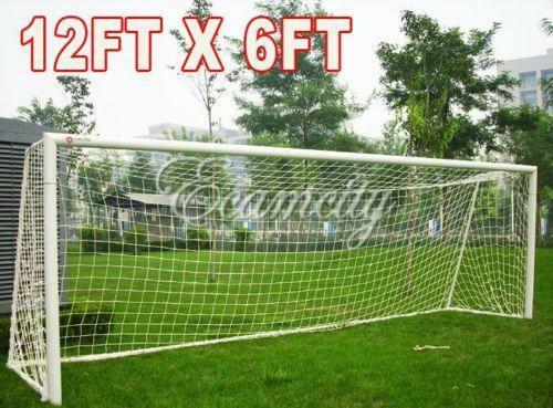 how to build a full size soccer goal