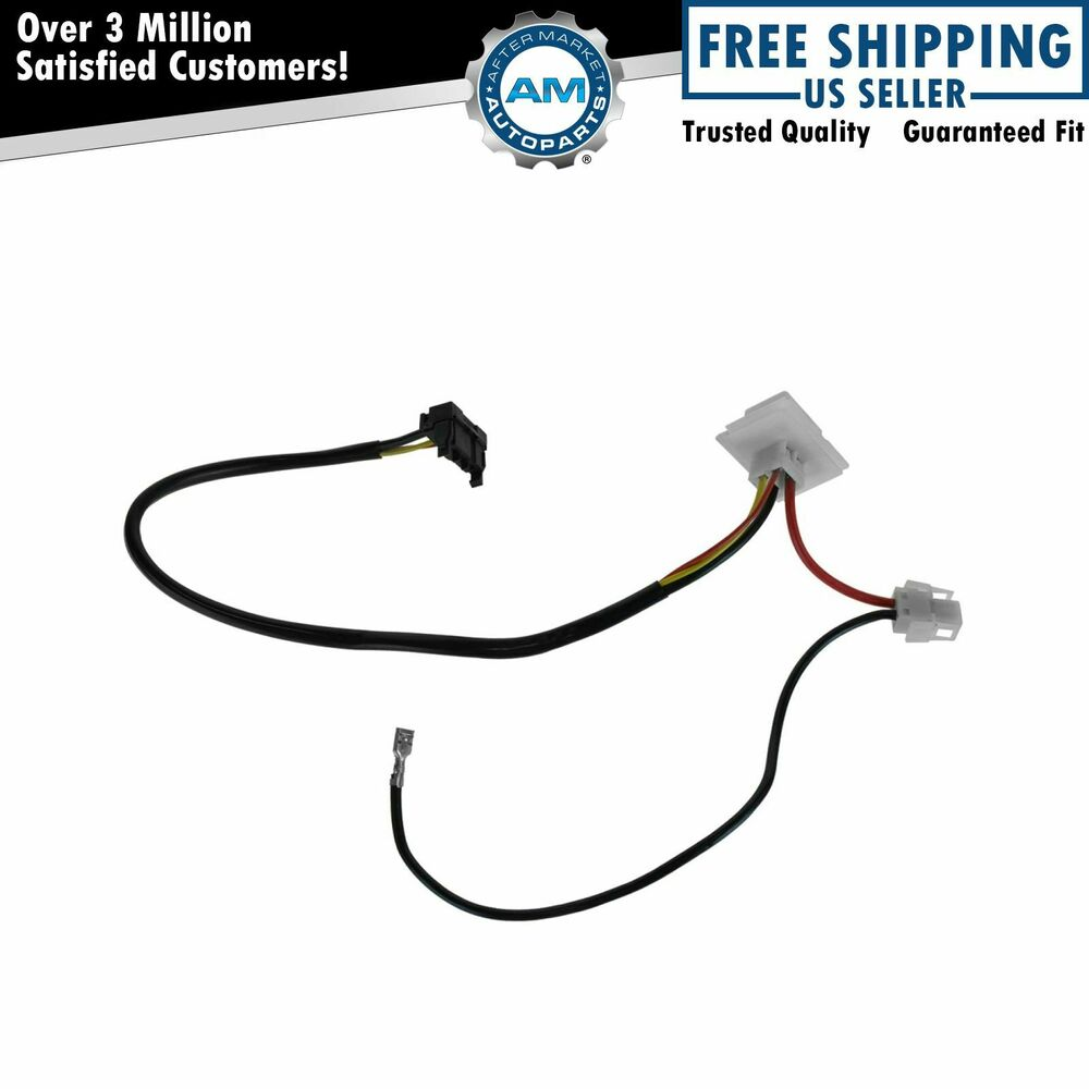 Blower motor resistor wiring jumper adapter harness for for 1998 mercedes e320 window regulator
