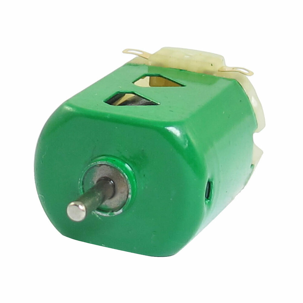 1 5v Dc 9000rpm 400ma Green Flat Electric 130 Motor For