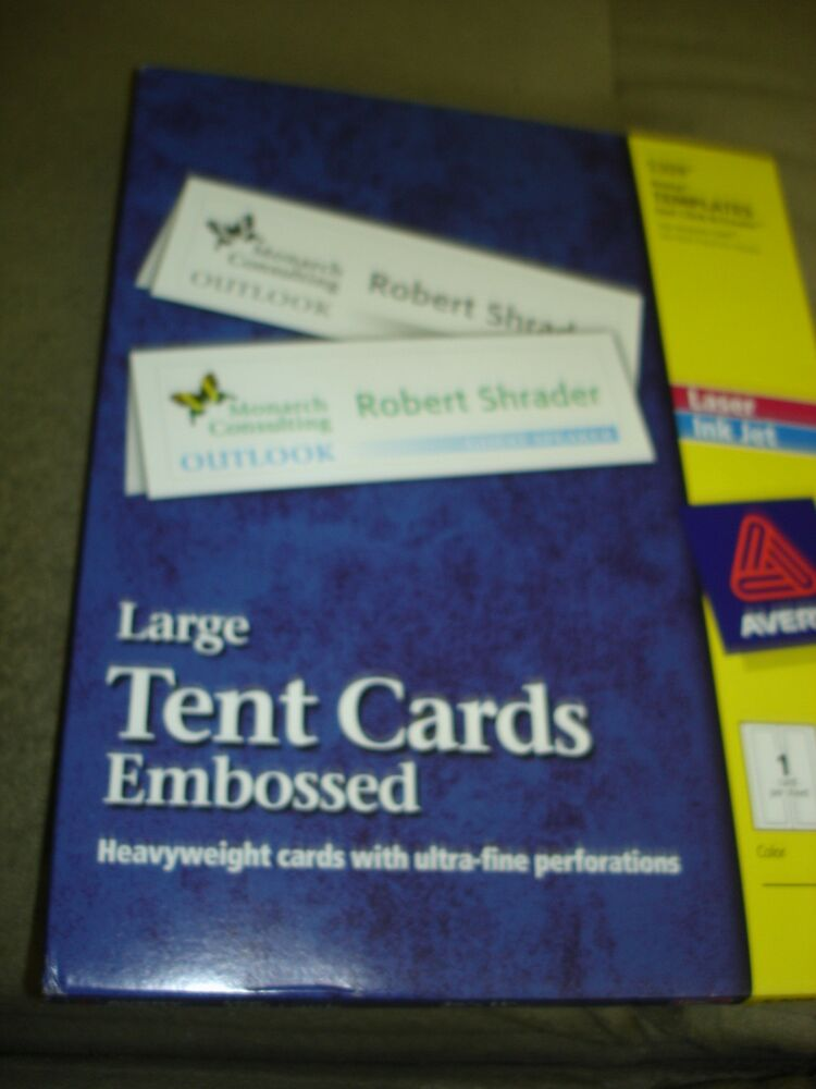 tent cards 5309