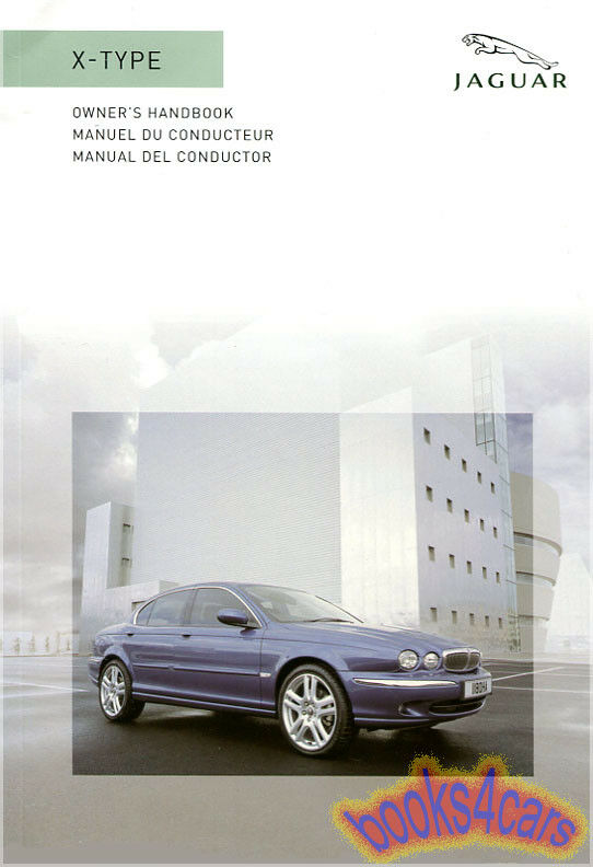 jaguar x type owners manual 2006 handbook book ebay. Black Bedroom Furniture Sets. Home Design Ideas
