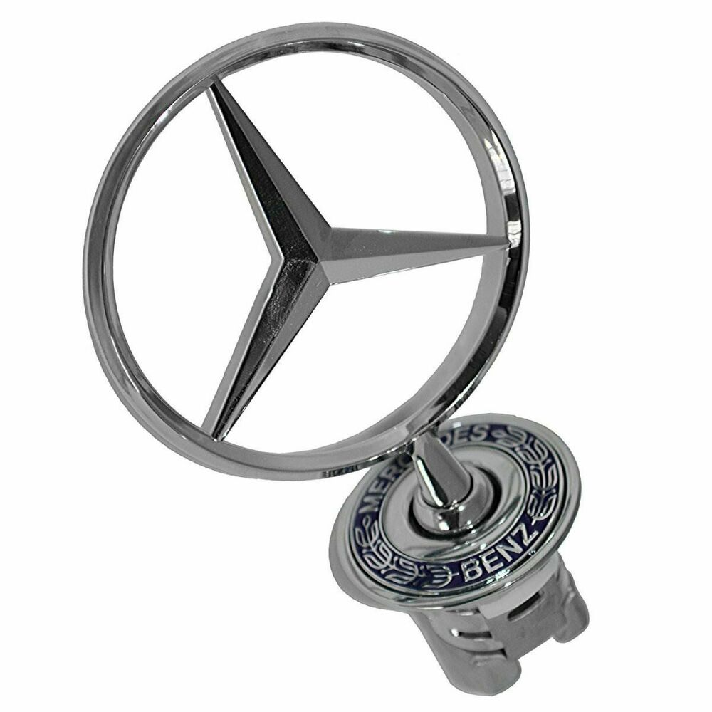 Mercedes benz hood ornament for 300e c280 c230 clk320 e320 for Mercedes benz trunk emblem
