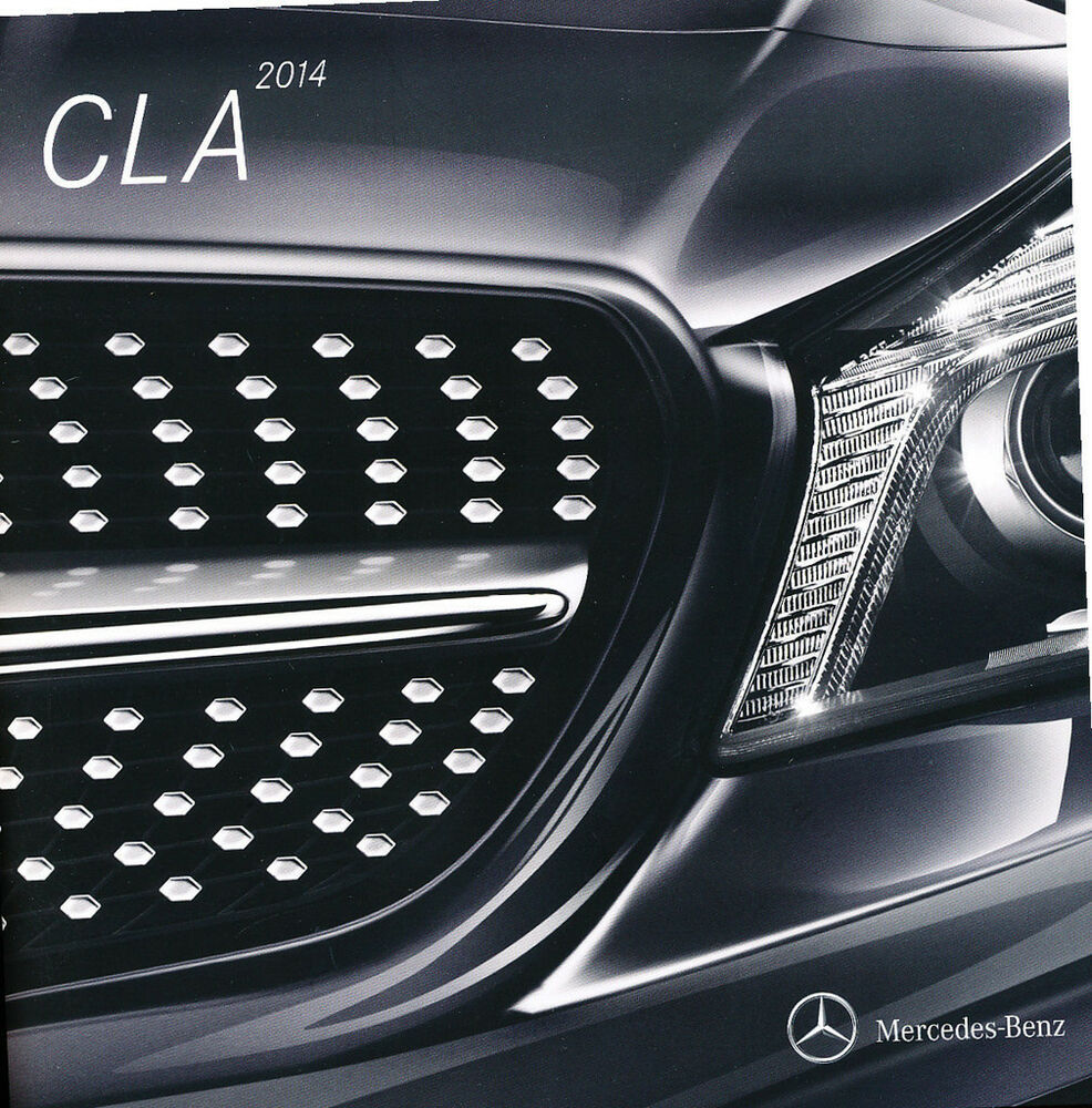 2014 mercedes benz cla250 cla45 amg 42 page original car for Mercedes benz amg accessories parts