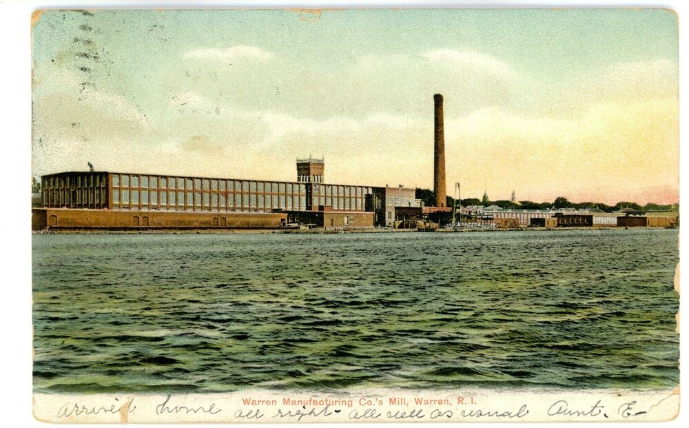 Rhode Island Manufacturing History