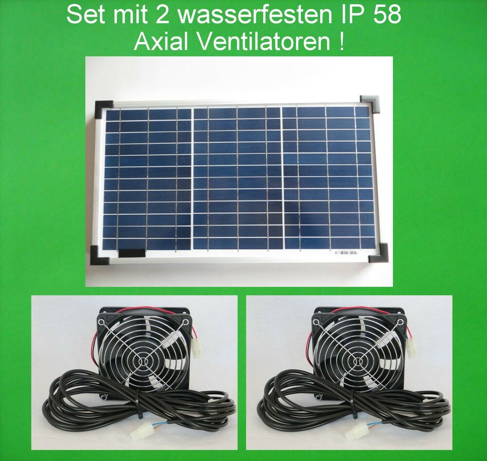 20w solarl fter gew chshaus l fter solar ventilatoren solarventilator gartenhaus ebay. Black Bedroom Furniture Sets. Home Design Ideas
