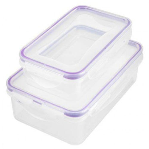 Clip Lock Storage Containers Lunchbox Sandwich Food