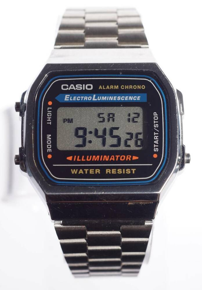 how to change casio illuminator watch to 12 hour time