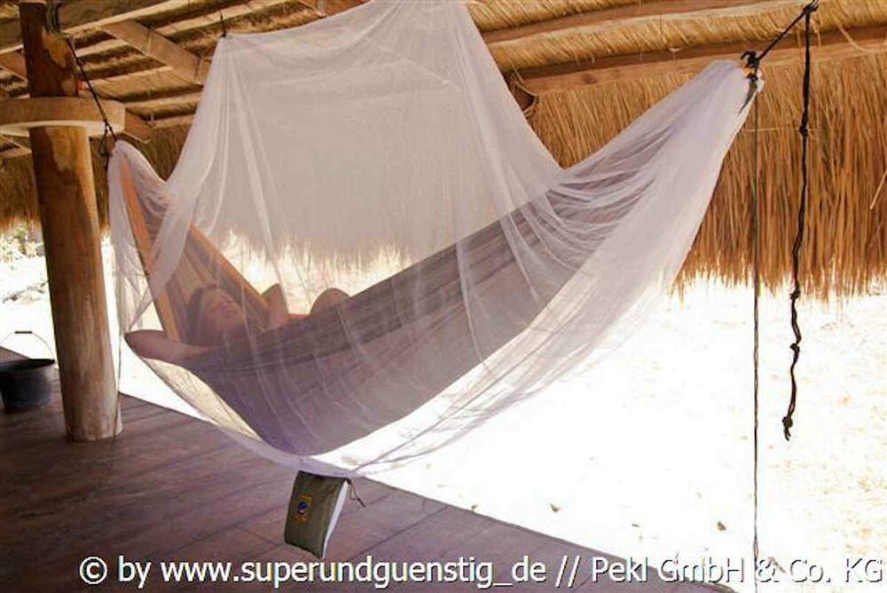moskitonetz f r h ngematten markenqualit t von ticket to. Black Bedroom Furniture Sets. Home Design Ideas