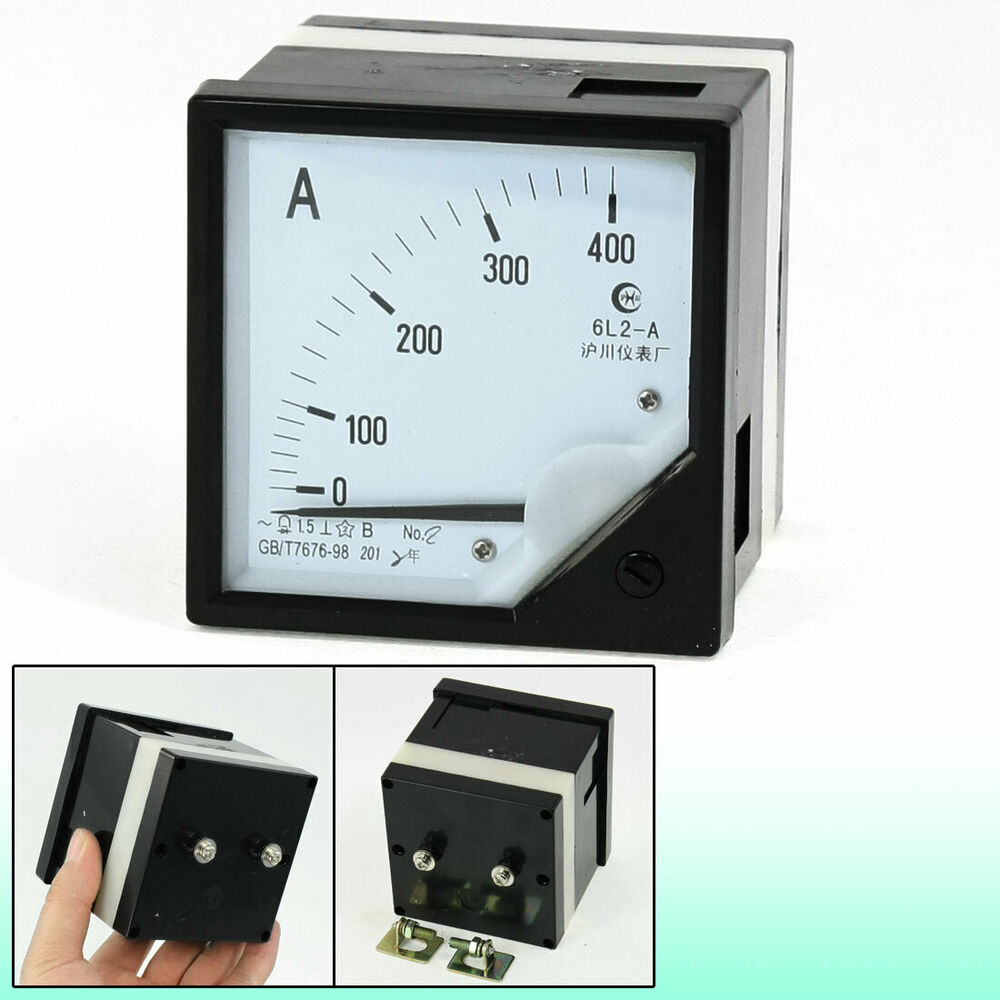 Analog Ac Amp Meter : Class accuracy ac amps square dial analog panel