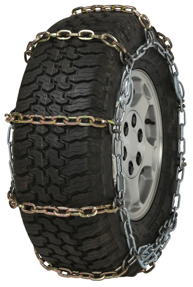 quality chain hdqc cam mm square link tire chains snow traction suv truck ebay