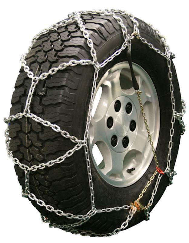 quality chain 2533q diamond back link tire chains traction suv lt truck ebay. Black Bedroom Furniture Sets. Home Design Ideas