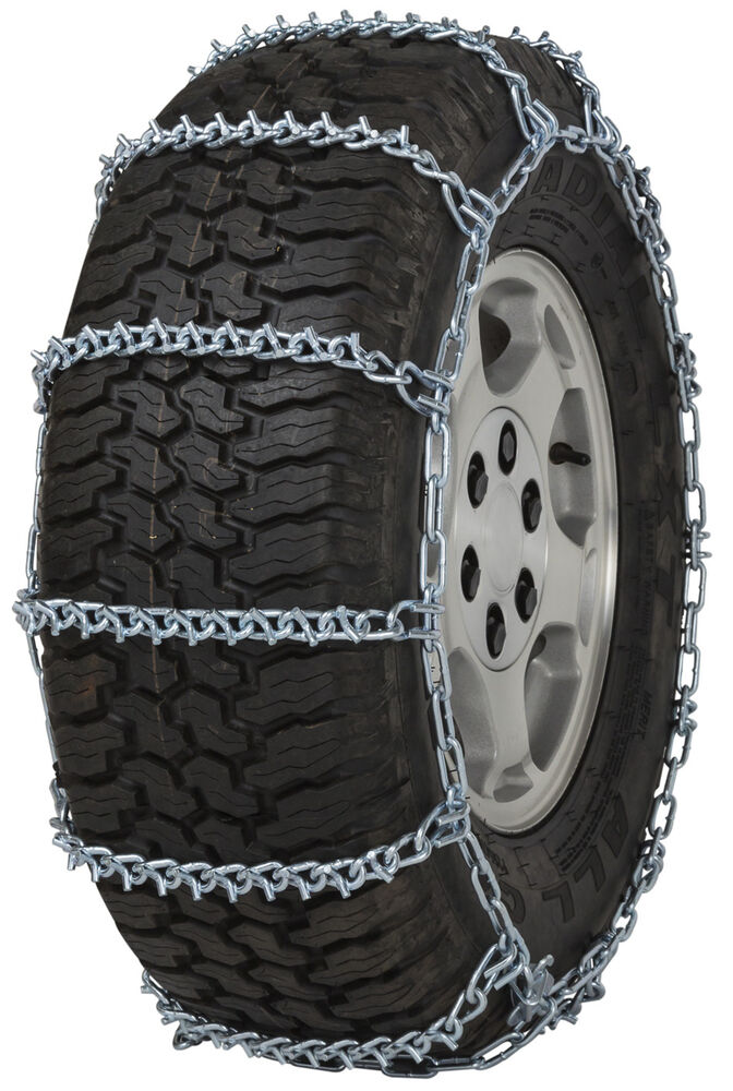 Quality Chain 2838 V-Bar Non-Cam 7mm Link Tire Chains Snow